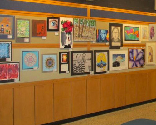 The Art Gallery at the Heider Center in West Salem, WI