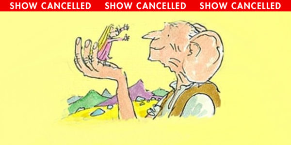 The Big Friendly Giant, an Educational Series show CANCELLED at the Heider Center in West Salem, WI