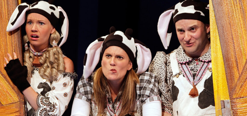 Click, Clack, Moo, an Educational Series show at the Heider Center in West Salem, WI